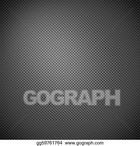Drawing - Carbon fiber background Clipart Drawing gg59761764 - GoGraph