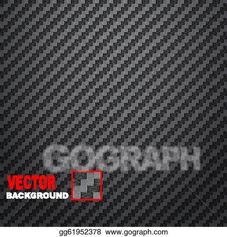 EPS Vector - Carbon fiber background Stock Clipart Illustration