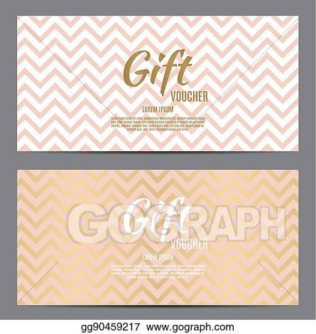 Vector Stock - Christmas and new year gift voucher, discount coupon