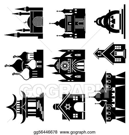 EPS Illustration - Church Vector Clipart gg56446678 - GoGraph
