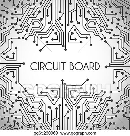 Vector Art - Circuit board design EPS clipart gg65230969 - GoGraph - circuit design background