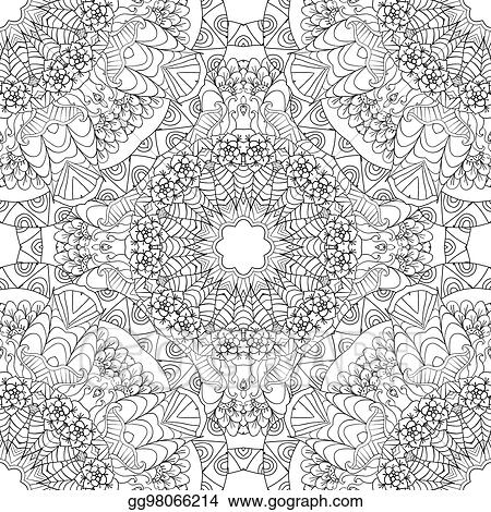 Vector Stock - Coloring pages for adultsdecorative hand drawn - Culring Pajis