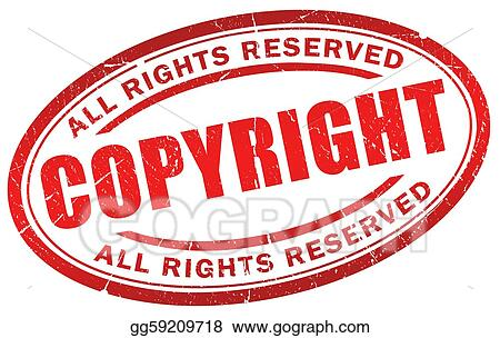 Clipart - Copyright symbol Stock Illustration gg59209718 - GoGraph