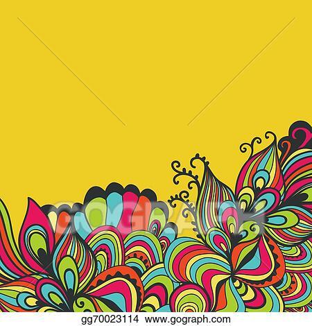 EPS Illustration - Decorative element border abstract invitation