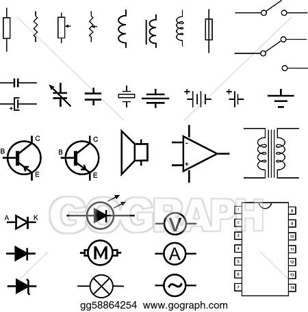 ELECTRONICS SCHEMATIC SYMBOLS SVG - Auto Electrical Wiring Diagram