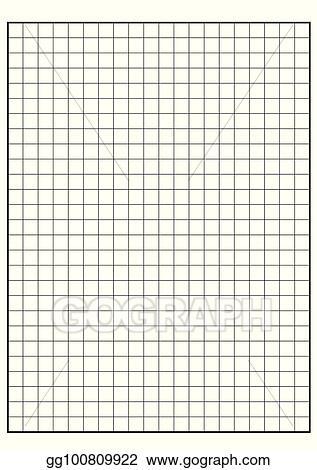 Vector Art - Engineering graph paper printable graph paper vector