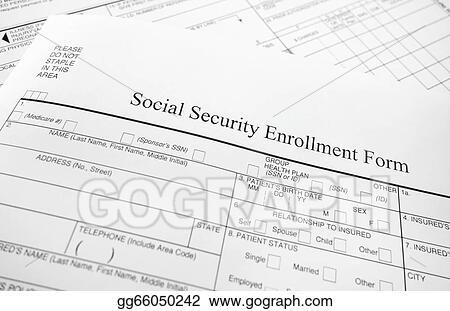 Stock Photo - Enrollment form Stock Photography gg66050242 - GoGraph