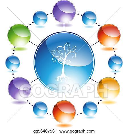 Vector Stock - Family tree Stock Clip Art gg56407531 - GoGraph