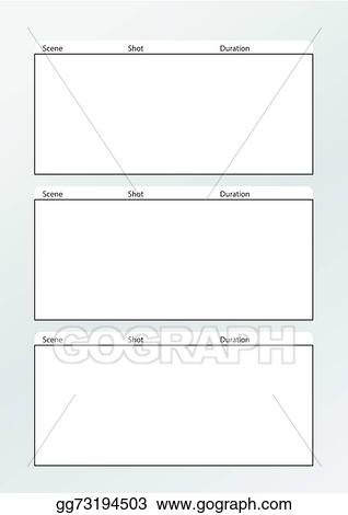 Fine Vertical Storyboard Template Pattern - Resume Template