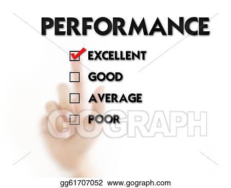 Employee Assessment Employee Performance Evaluation Stock Illustration Finger Pressing Employee Evaluation