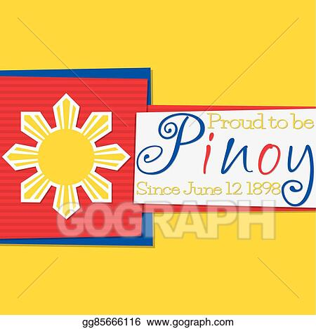 EPS Vector - Funky philippine independence day card in vector format