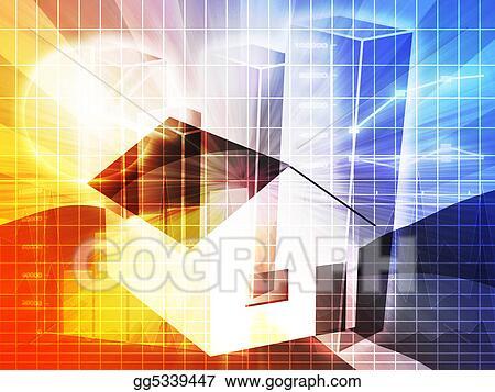 Drawing - Housing market analysis Clipart Drawing gg5339447 - GoGraph - real estate market analysis