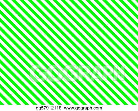 Stock Illustration - Jpg green diagonal stripe Clip Art gg57912118