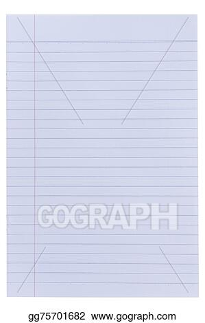 Stock Images - Lined paper background Stock Photography gg75701682 - line paper background