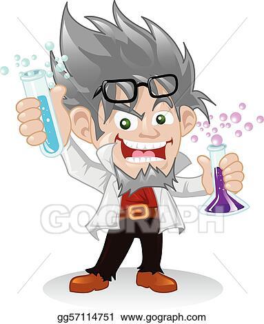 Scientist Clip Art - Royalty Free - GoGraph