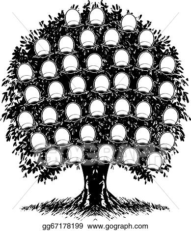 Family Tree Clip Art - Royalty Free - GoGraph