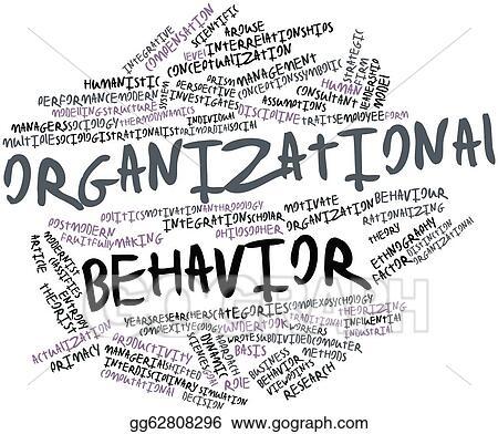 Stock Illustration - Organizational behavior Clipart Drawing