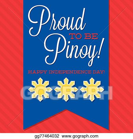 Vector Art - Philippines independence day card in vector format