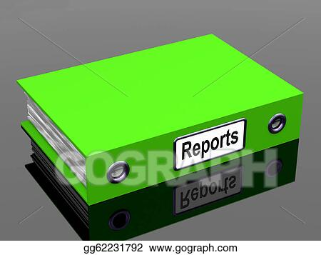 Drawing - Reports file shows business documents and accounts