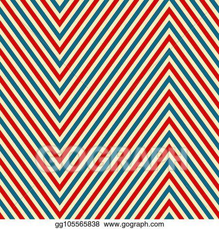 Vector Art - Seamless retro texture diagonal line vector Clipart