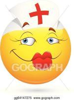 Y Nurse Smiley Face Clip Art