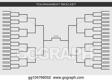 Vector Art - Soccer, baseball tournament bracket for your design