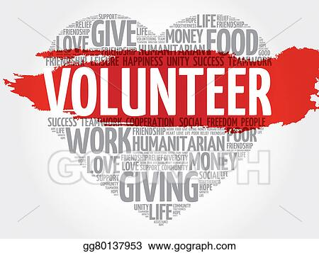 Stock Illustrations - Volunteer Stock Clipart gg80137953 - GoGraph