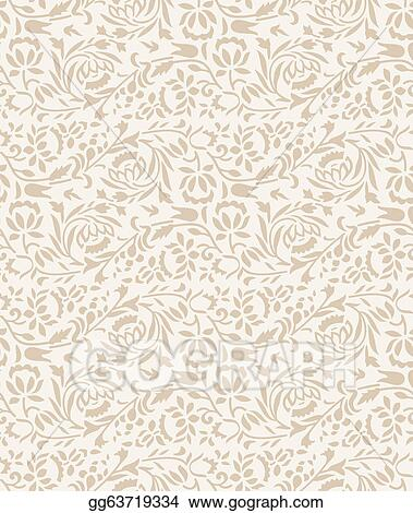 Vector Clipart - Wedding-invitation card background Vector