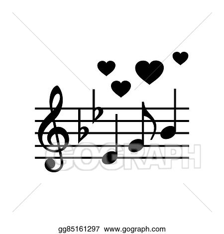 Drawing - Wedding music simple icon Clipart Drawing gg85161297