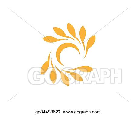 Vector Stock - Wheat logo template Stock Clip Art gg84498627 - GoGraph - wheat template