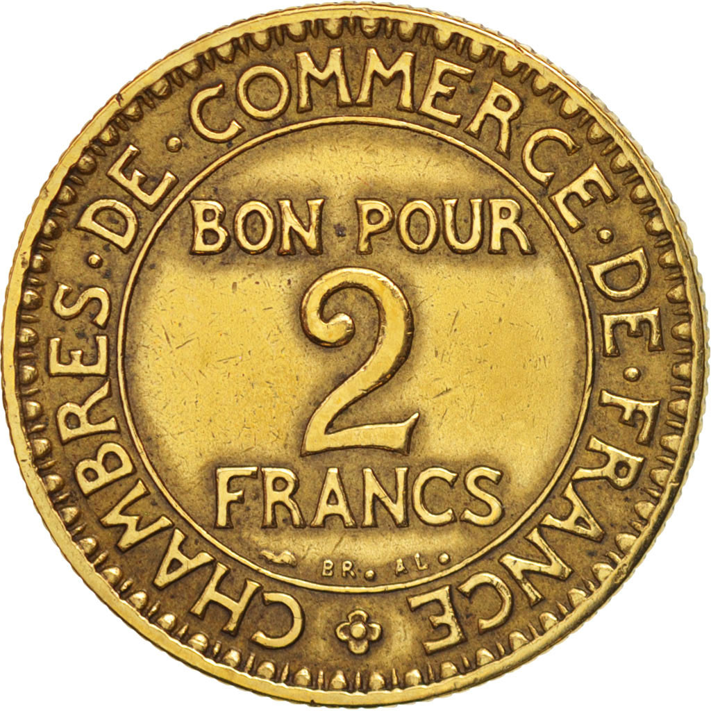 Chambre Du Commerce Paris 407952 France Chambre De Commerce 2 Francs 1925 Paris
