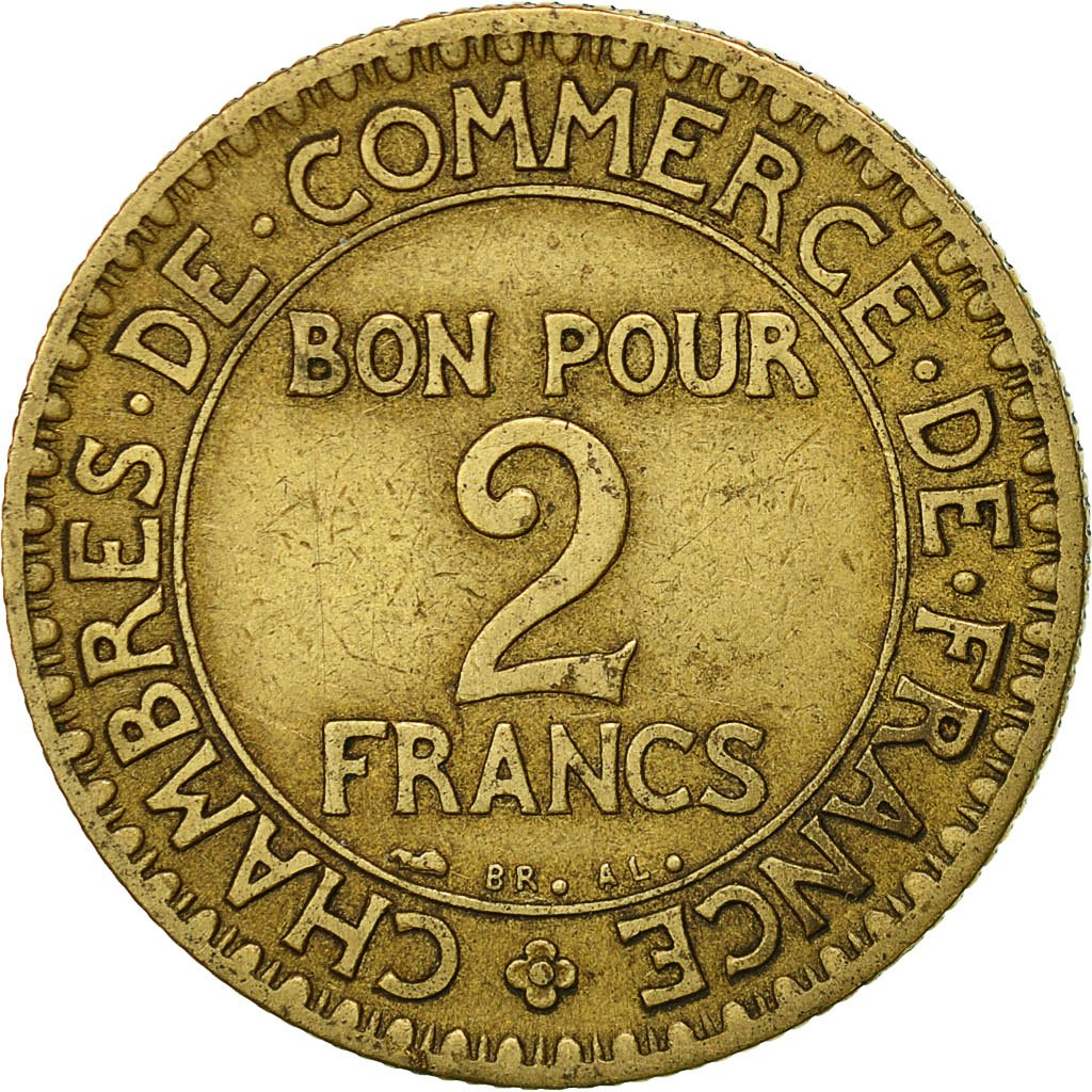 Chambre Du Commerce Paris 522315 France Chambre De Commerce 2 Francs 1927 Paris