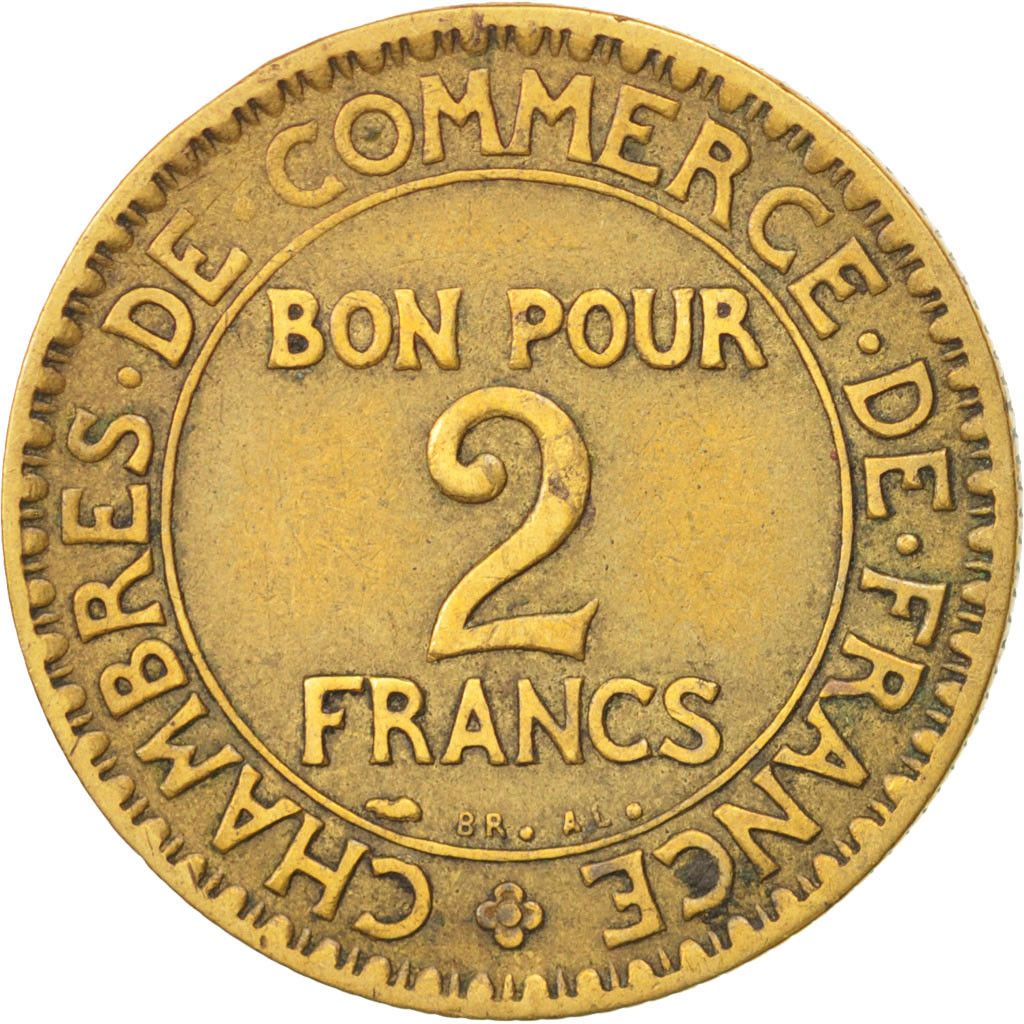 Chambre Du Commerce Paris 77725 France Chambre De Commerce 2 Francs 1926 Paris
