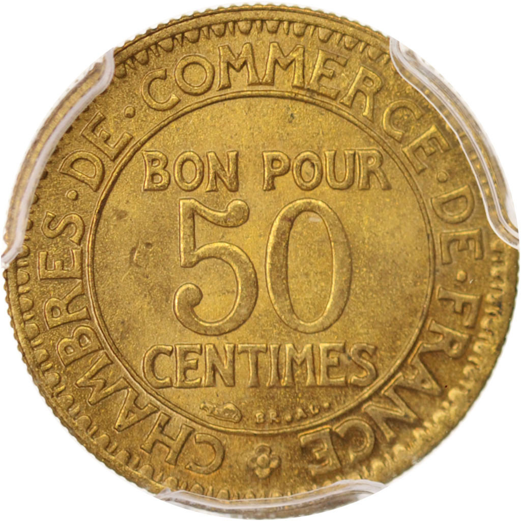 Chambre Du Commerce Paris 96438 France Chambre De Commerce 50 Centimes 1923