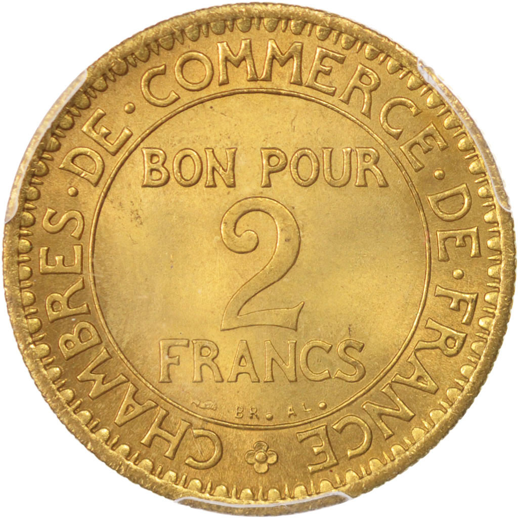 Chambre Du Commerce Paris 96491 France Chambre De Commerce 2 Francs 1921 Paris