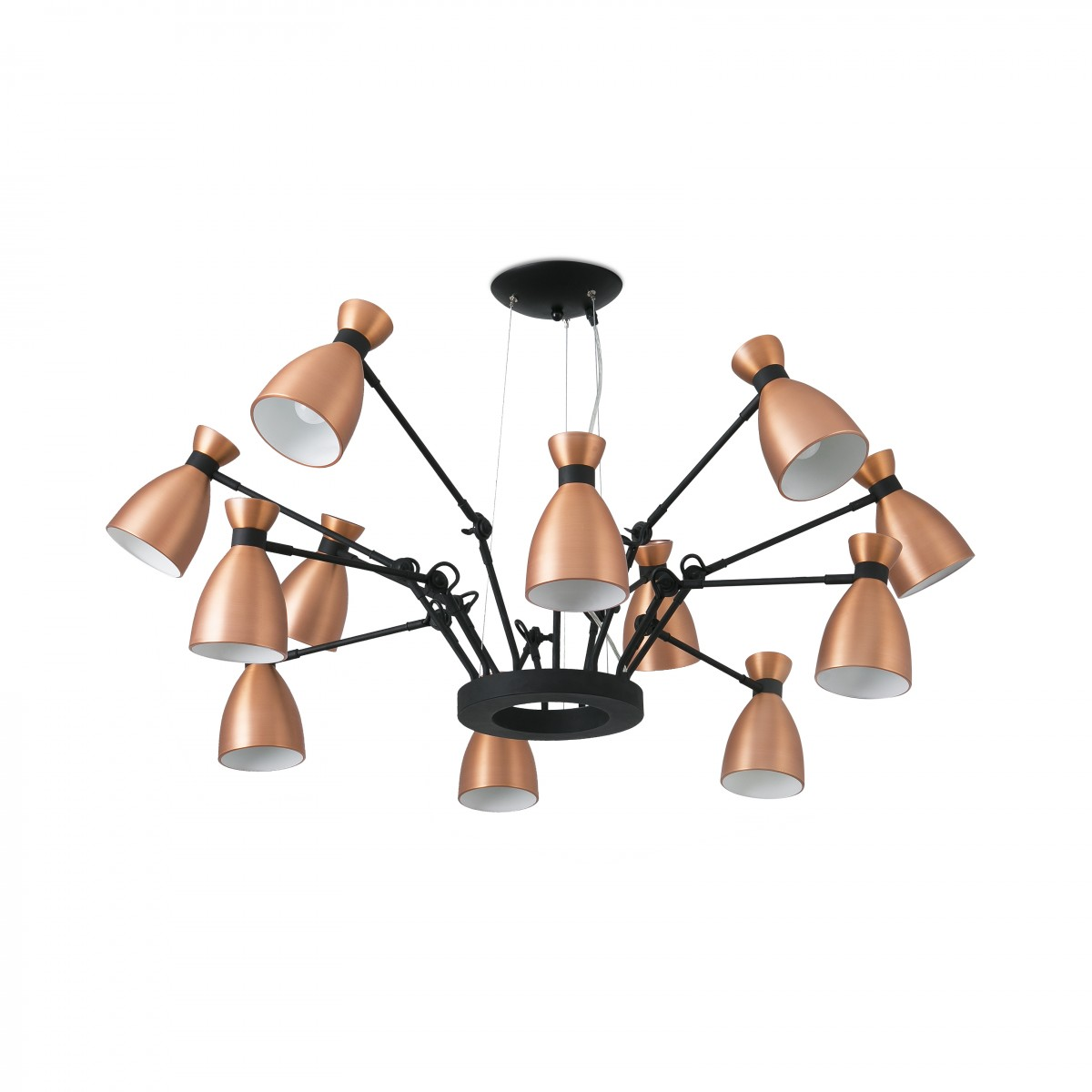 Lampe Suspension Cuivre Retro Lampe Suspension Cuivre 12l