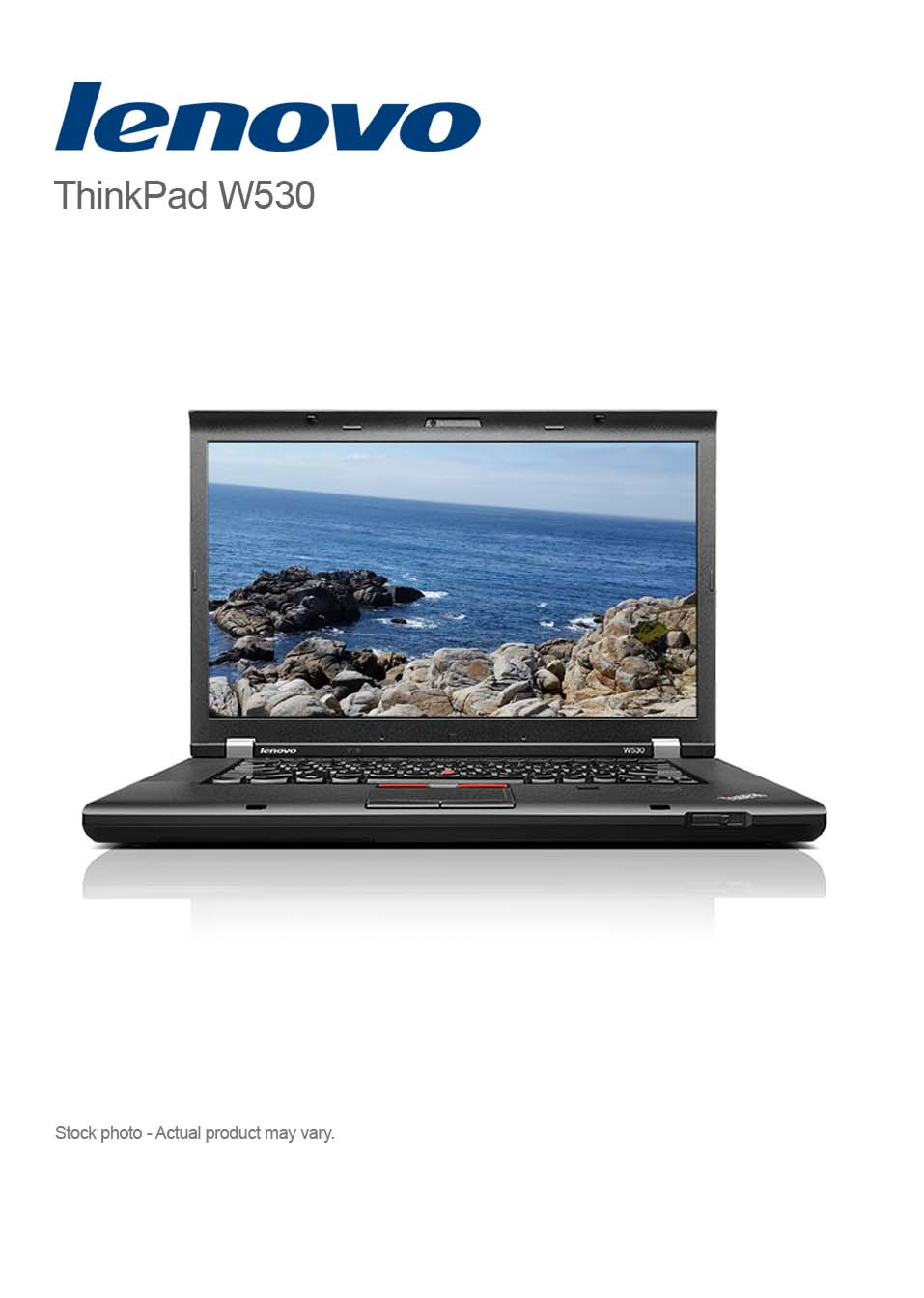 Lenovo Laptop Lenovo Thinkpad W530 Core I7 3740qm 16gb 500gb 15 6