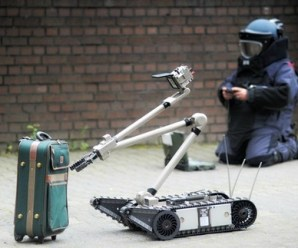 Police Departments increase the use of robots in bomb investigations