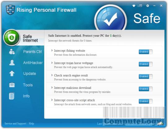 Rising Firewall 2012 Free
