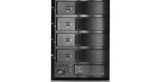 iStarUSA 4-Bay Trayless eSATA RAID Box