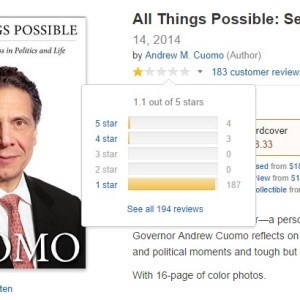 Andrew Cuomo's New Book: All Things Possible; Including The Worst Book Reviews In History ...