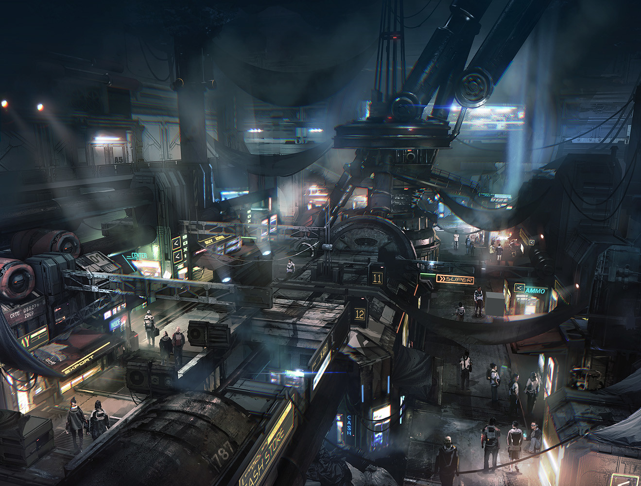 Levski 3d Wallpaper Nicolas Ferrand Concept Art World