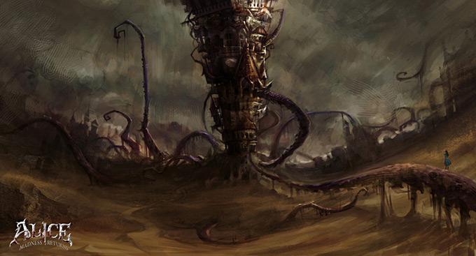 Bioshock Infinite Falling Wallpaper Hd The Art Of Alice Madness Returns Concept Art World