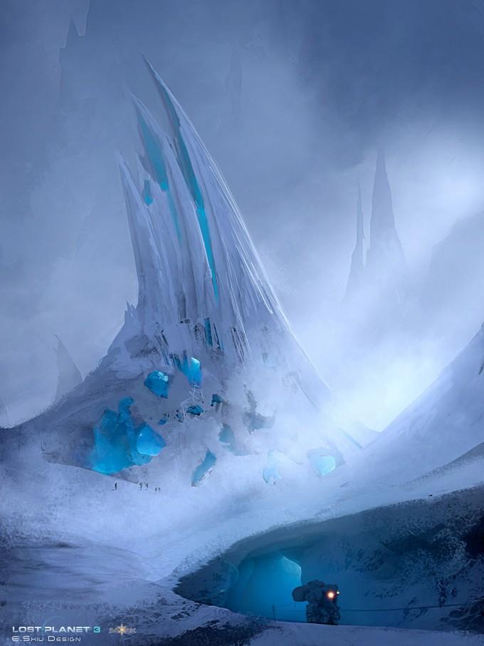 Destiny 2 Wallpaper Hd Lost Planet 3 Concept Art By Emmanuel Shiu Concept Art World