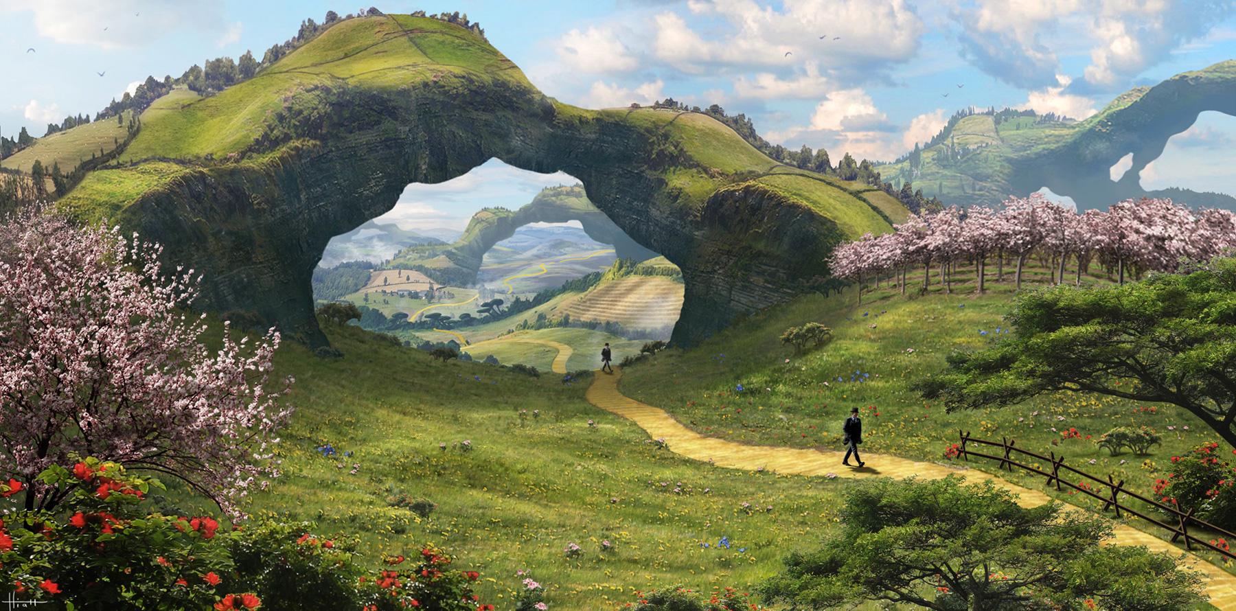 Epic Anime Wallpaper Nicholas Hiatt Concept Art World