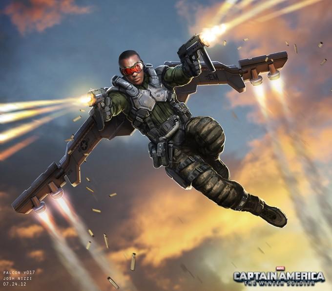 Spider Man 3d Live Wallpaper Captain America The Winter Soldier Concept Art By Josh