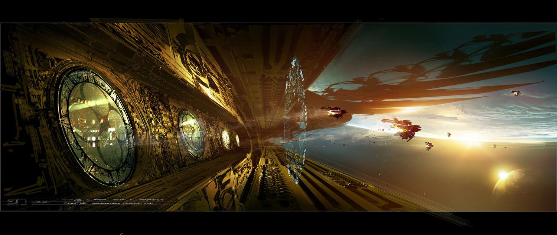 Hd Jupiter Wallpaper Jupiter Ascending Concept Art By George Hull Concept Art