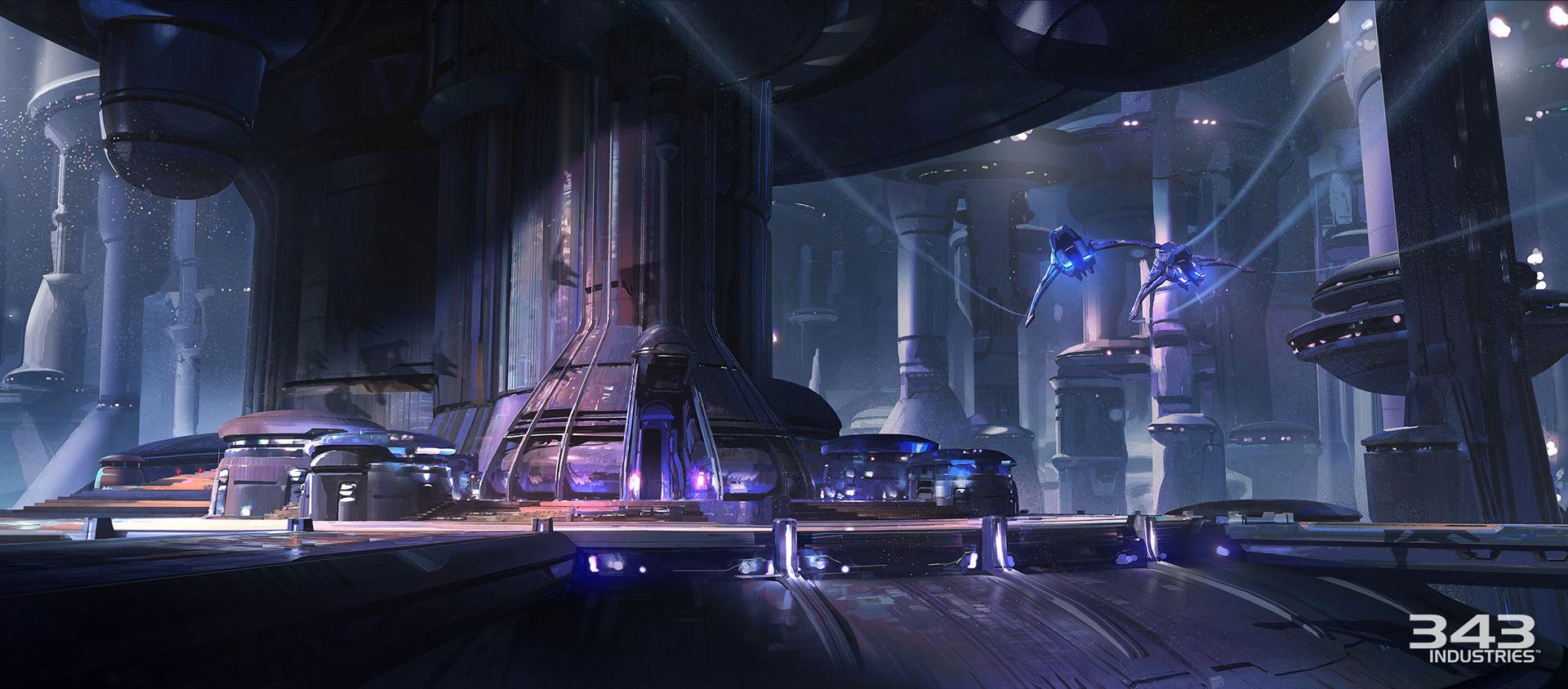 Killzone Shadow Fall Full Hd Wallpaper Halo 5 Guardians Concept Art By Darren Bacon Concept