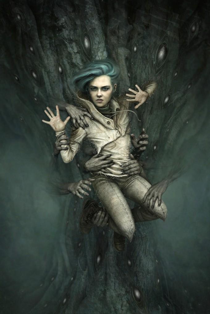 Scary Little Girl Wallpaper Anne Dark Concept Art Concept Art World