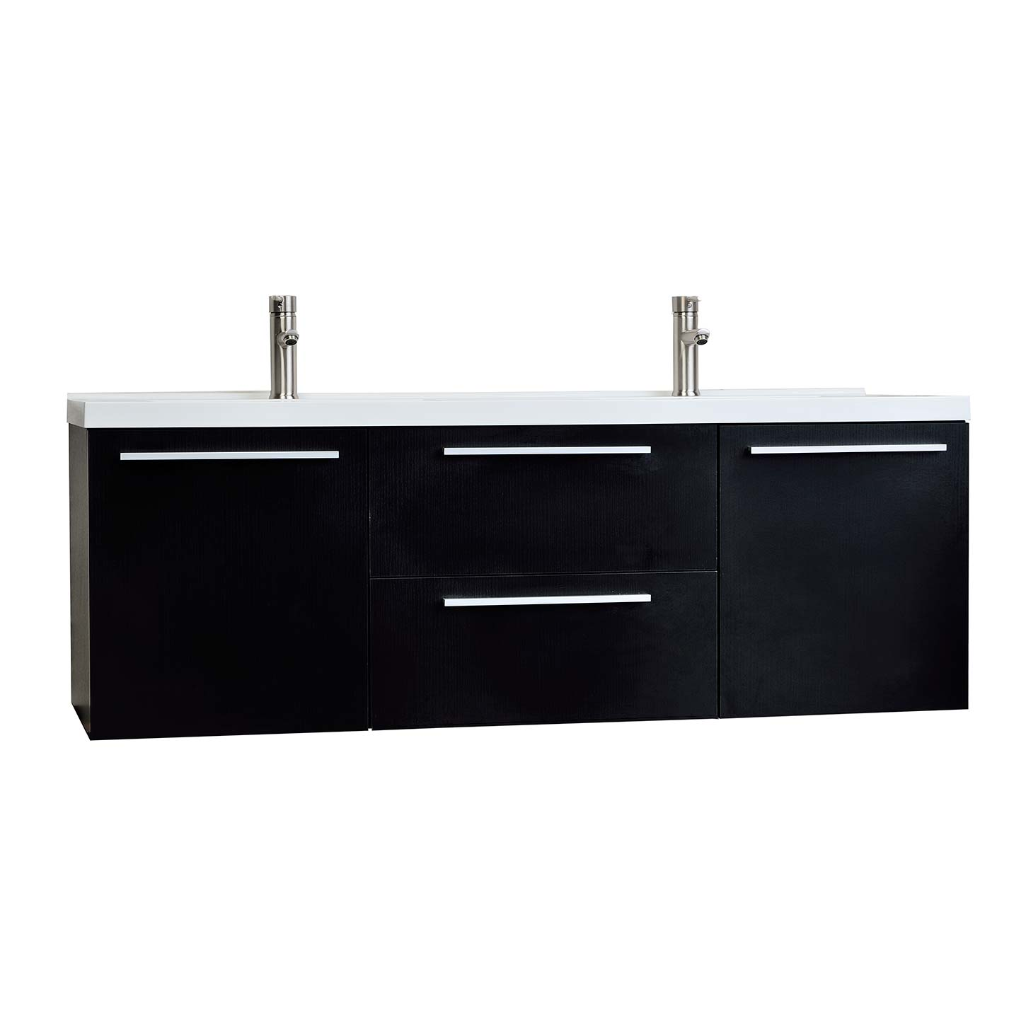 Wall Mount Double Vanity 59